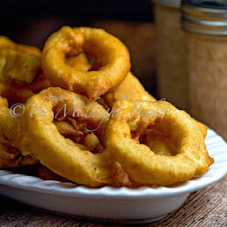 Beer Batter Onion Rings.