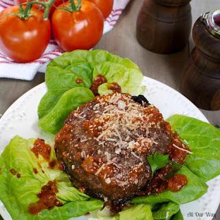 Portabella Mushroom Pizza Hamburgers with Tangy Homemade Sauce Recipe