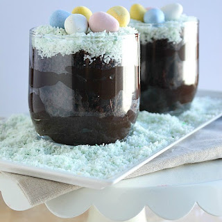Healthy(er) Spring Dirt Cups