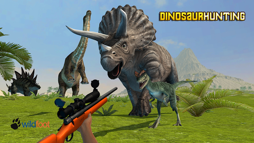 Wild Dinosaur Hunting 3D screenshot 1