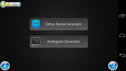 タトゥー名前デザインジェネレータ