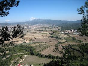 Photo: Tossa de Montbui: plana d'Igualada