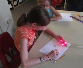 Photo: Learning how light works
