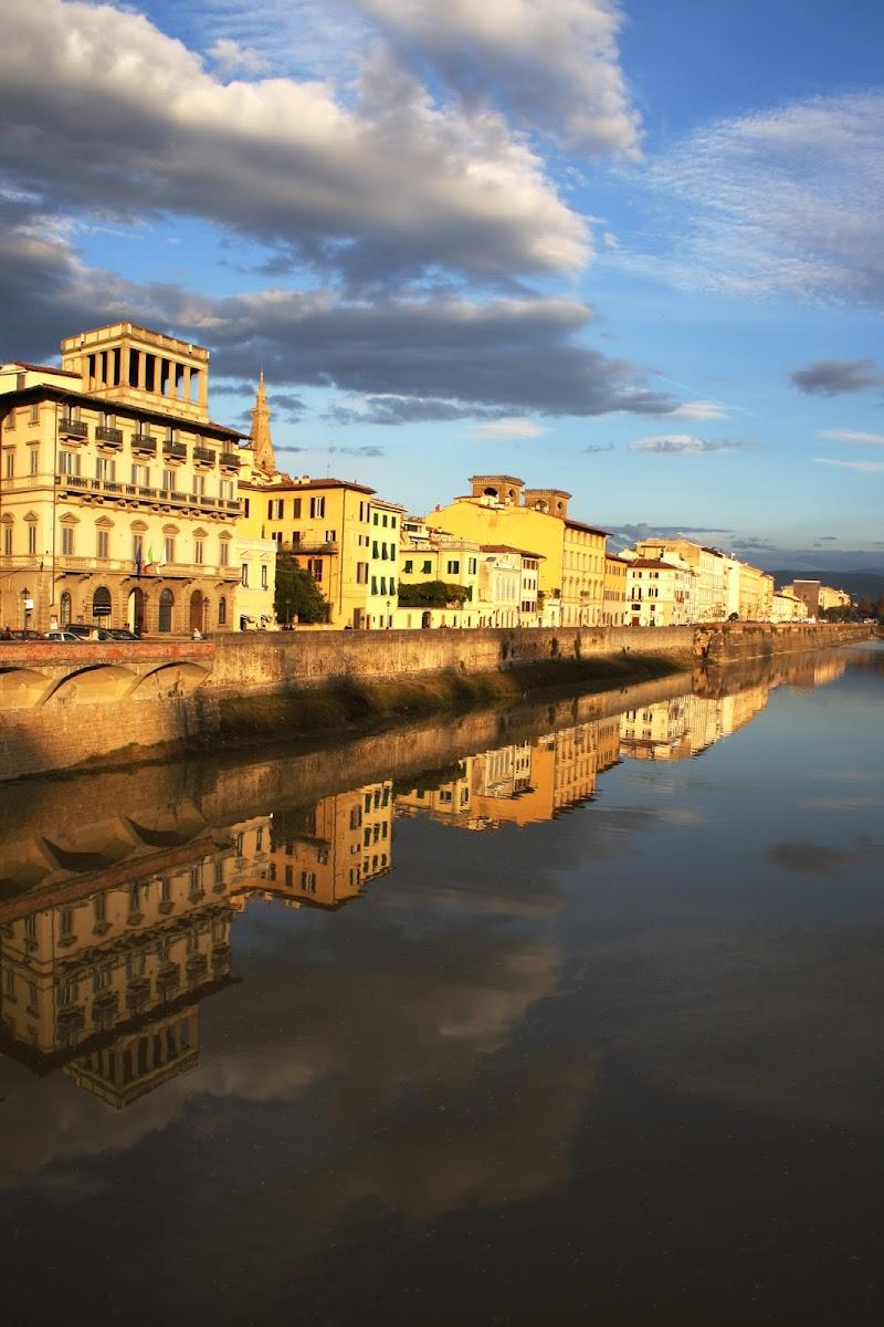 Fuga lungo l'Arno di marmar