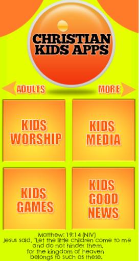 CHRISTIAN KIDS APPS