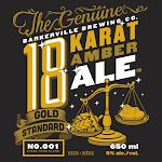 Barkerville Brewing Co. 18 Karat Ale
