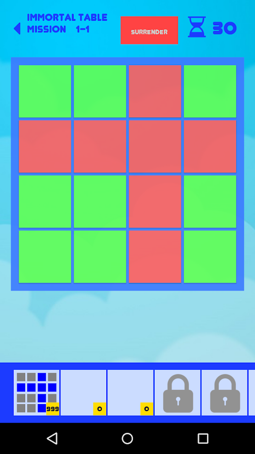 Puzzle Game - Immortal Table Color- screenshot