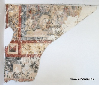 Fragmento de pinturas murales