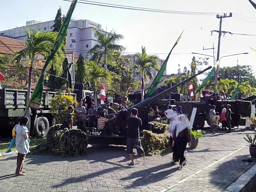 Pameran Alutsista TNI di Kampus C Unair