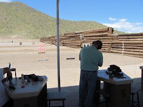 Photo: Scott shooting.