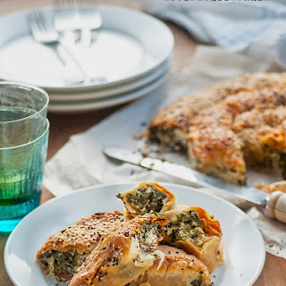 Spiral Spanakopita (spinach And Feta Pie)