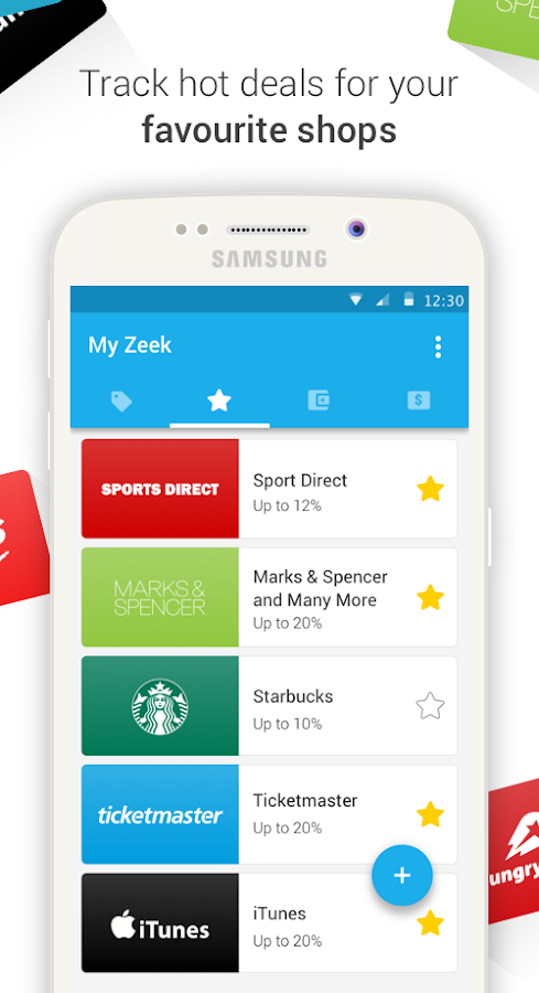 Zeek: Gift Voucher Marketplace- screenshot