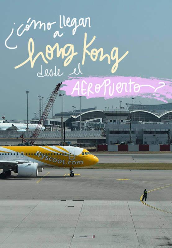 como llegar a Hong Kong desde el aeropuerto