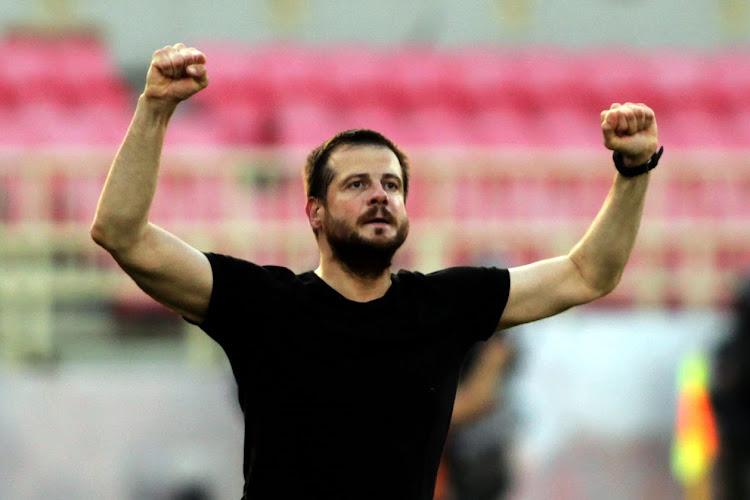 📷  Standard treft een wel héél bijzondere coach in de Europa League