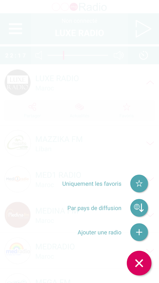 my Radio Morocco- screenshot
