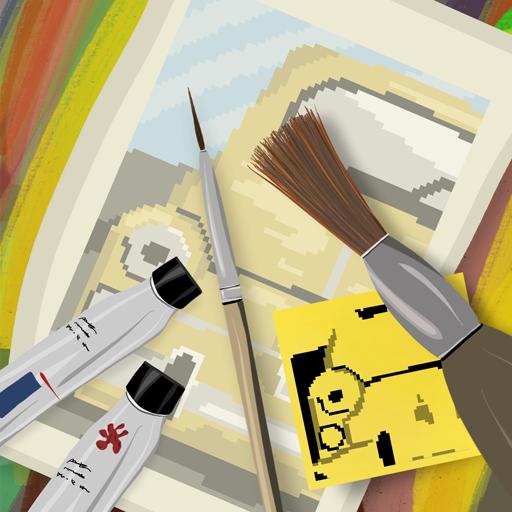 像素畫家的故事 休閒 App LOGO-硬是要APP