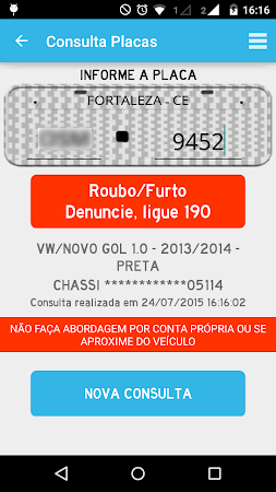 Consultar Placas Detran 2.7.10 screenshot 642227
