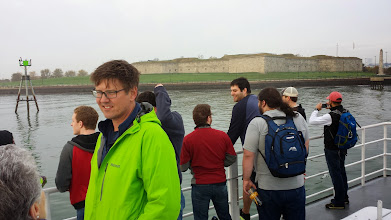 Photo: Passing Castle Island