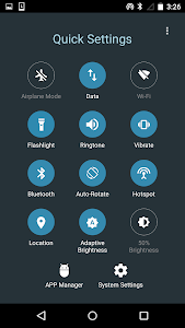 Quick Settings for Android -Toggle & Control Panel 10.9