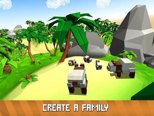 Blocky Panda Simulator - be a bamboo bear! 2.2.4 screenshots 8