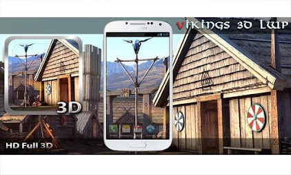 Vikings 3D LWP APK screenshot thumbnail 1