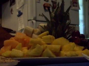 Frsh Fruit Platter Recipe
