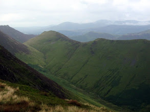 Photo: ... and a view of Sail Beck valley, down which we came yesterday.