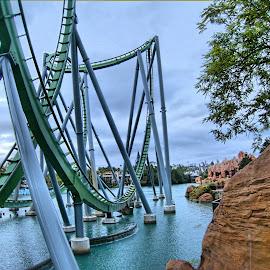 by Rob Whidden - City,  Street & Park  Amusement Parks