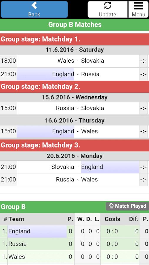 Match Date World Cup 2018