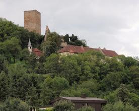 Photo: Burg Ehrenberg mit Bergfried von 1235, Heinsheim