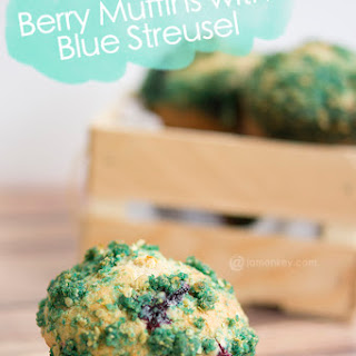 Mixed Berry Muffins with Streusel Topping
