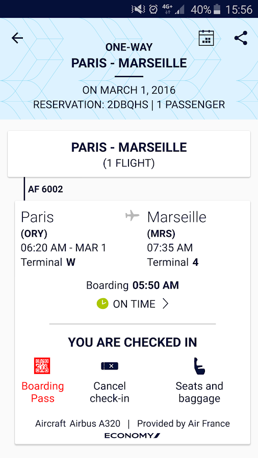 Air France- screenshot