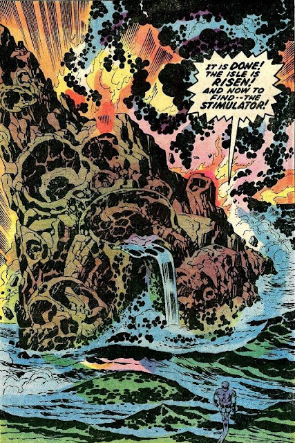 Fantastic Four #98, Jack Kirby, the Sentry and his mysterious island