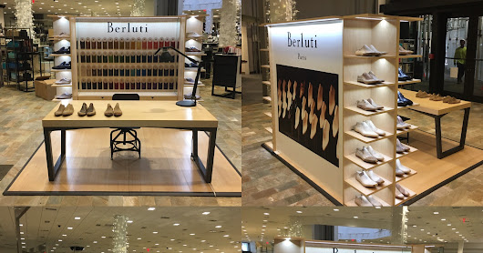 BERLUTI DISPLAY BALL HARBOR NM