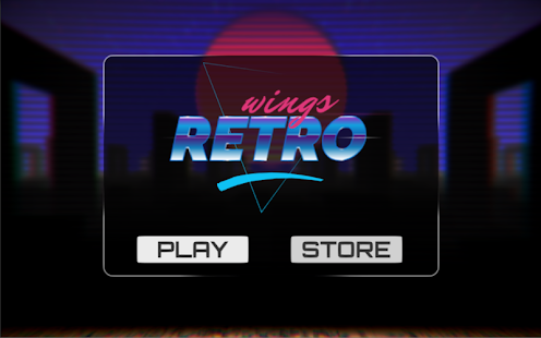 [Download Retro wings: Neon lights in the sky for PC] Screenshot 5