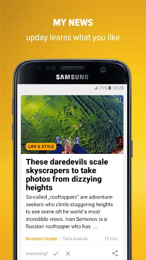 upday news for Samsung Screenshots 5
