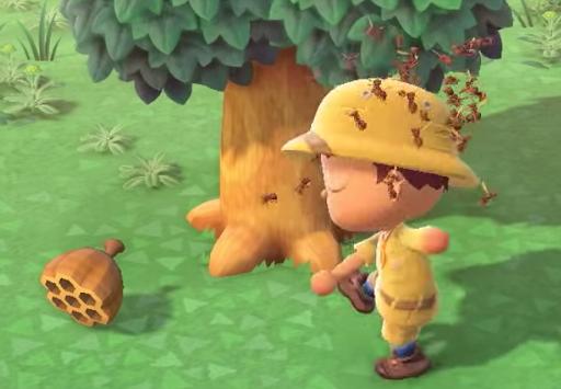 に 刺され 森 た あつ 蜂