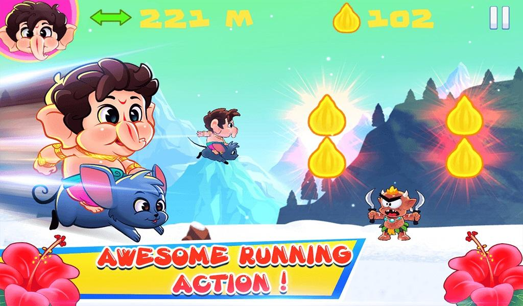 Baby Ganesha Holi Run- screenshot