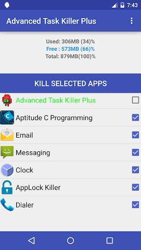 Advanced Task Killer Plus