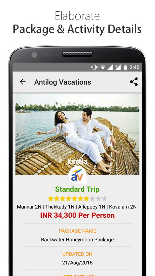 Cashless Holidays,Travel Deals- screenshot
