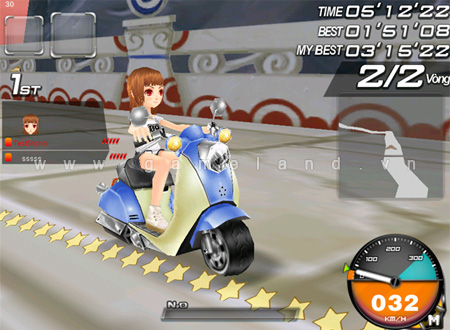 """""""Kênh Mô tô"""" là phiên bản mới của Zing Speed 3"""