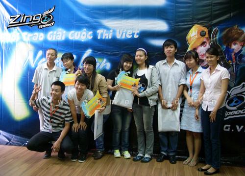 Zing Speed trao giải cuộc thi Người bạn đồng hành 5