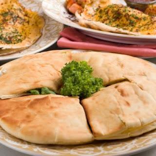 Four Cheese Pita Pocket