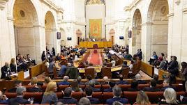Imagen de archivo del Parlamento de Andalucía.