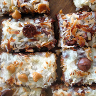 Butterscotch Coconut Bar Cookie Recipes