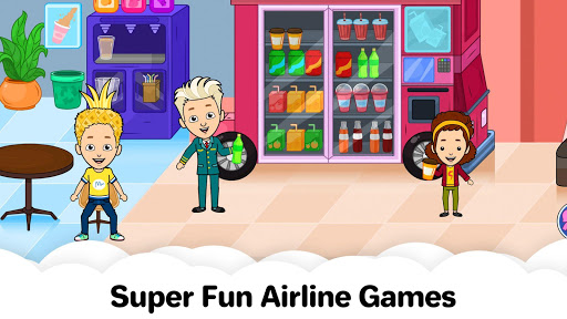 My Airport Town: Kids City Airplane Games for Free 1.4 screenshots 16