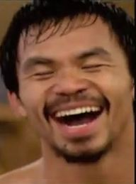 Manny Pacquiao Laughing