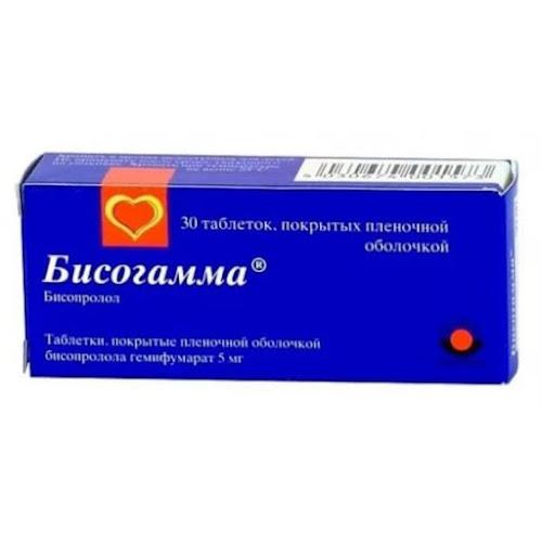 Бисогамма таб.п/о плен. 5мг №30