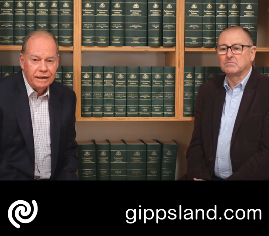 Member for Monash Russell Broadbent and Member for Narracan Gary Blackwood