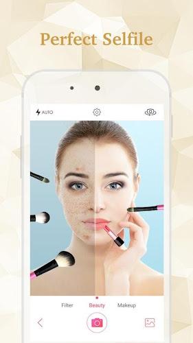 Selfie Beauty Camera Pro Android App Screenshot